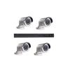 Hikvision 4 kamerás 1.3 Megapixel HD IP alapú megfigyelőrendszer szett