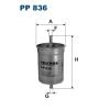 Filtron üzemanyagszűrő PP836 1db