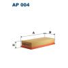 Filtron levegőszűrő AP004 1db