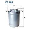 Filtron üzemanyagszűrő PP986 1db