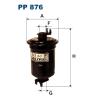 Filtron üzemanyagszűrő PP876 1db