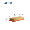 Filtron levegőszűrő AP190 1db