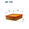 Filtron levegőszűrő AP135 1db