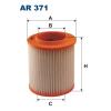 Filtron levegőszűrő AR371 1db
