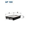 Filtron levegőszűrő AP160 1db
