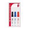 ICO Tábla- és flipchart marker készlet, 1-3 mm, kúpos