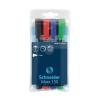 SCHNEIDER Alkoholos marker készlet, 1-3 mm, kúpos, SCHNEIDE