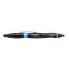 STABILO Golyóstoll, 0,5 mm, nyomógombos, fekete-kék tollt