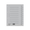 DONAU Regiszter, karton, A4, DONAU, szürke (100 db)