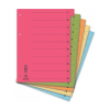 DONAU Regiszter, karton, A4, mikroperforált, DONAU, nar