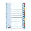 ESSELTE Regiszter, laminált karton, A4, 12 részes, ESSELT