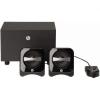 HP BR386AA 2.1 hangszórók, Fekete (BR386AA)