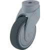 Blickle Blickle 744738 100 mm-es formatervezett műanyag terelő görgő, WAVE Kivitel Terelő görgő hátsó furattal