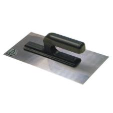 Glettelő, glettvas, rozsdamentes, 270 x 130 x 6 mm barkácsolás, csiszolás, rögzítés