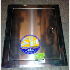 Szerelőajtó, DMN56, ellenőrző ajtó, rozsdamentes acél, 200 x 300 mm barkácsolás, csiszolás, rögzítés
