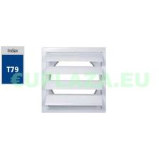 Gravitációs zsalu, TN1, műanyag, 190 x 190 mm barkácsolás, csiszolás, rögzítés