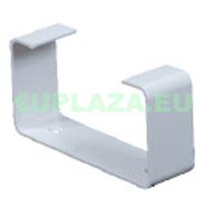 Felfogató elem, KP55-28, négyszög keresztmetszetű légcsatornához, műanyag, 55 x 110 mm barkácsolás, csiszolás, rögzítés