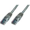 RJ45 Hálózat csatlakozókábel CAT 6 S/FTP 1x RJ45 dugó - 1x RJ45 dugó 0.25 m Szürke