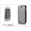Pierre Cardin Samsung i9500 Galaxy S4 alumínium hátlap - silver