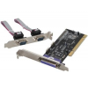 iTec i-tec PCI kártya 2x Serial RS232 + 1x Parallel DB25