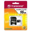 Transcend Micro SDHC 16GB Class 4 memóriakártya + Adapter