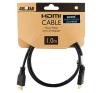 4world HDMI - HDMI kábel High Speed with Ethernet (v1.4)  3D  HQ  BLK  1m kábel és adapter