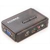 Edimax Technology Edimax KVM USB SOHO Switch 2 számítógéphez (kábel a készletben)