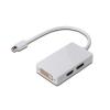 Digitus mini DP-DP+HDMI+DVI M/F adapter