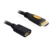 DELOCK kábel  High Speed HDMI Ethernettel  M/F  1m