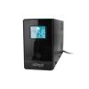 Gembird UPS Energenie-Gembird Line-Interactive 650VA 2xIEC 1xSchuko 230V OUT LCD