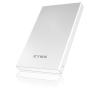 "RaidSonic IB-254U3 2.5"" SATA USB3.0 külső ház fehér-ezüst IB-254U3"