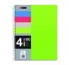 MIQUELRIUS Spirálfüzet, A5, kockás, 100 lap, MIQUELRIUS Note Book 4, vegyes füzet