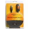 DELOCK USB hosszabbító kábel 2.0 A-A 5 m