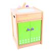 Santoys Rózsaszín/zöld mosogató