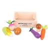 Bigjigs Piaci rekesz zöldségekkel