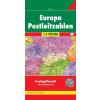 Európa postai irányítószámai térkép - f&b PLKEU