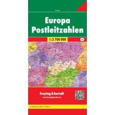 Európa postai irányítószámai térkép - f&b PLKEU térkép