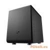 "Bitfenix Phenom Black Black,1 + belső 5x3,5"",ITX,Mini-ITX,Audio,Táp nélkül,250x330x374mm,11x2,5"",2x"