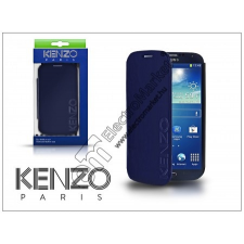 Kenzo Samsung i9500 Galaxy S4 flipes bőrtok - Kenzo GlossyCox - blue tok és táska