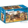 Playmobil Vadnyugati Banditák, Ponyváskocsijukon - 5248