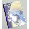FELLOWES Hőkötőborító, 3 mm, 11-32 lap, bőrhatású, A4, FELLOWES Prestige, fehér (IFW53175)
