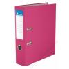VICTORIA Iratrendező, 75 mm, A4, PP/karton, VICTORIA, Basic, rózsaszín (IDI75RN)