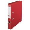 ESSELTE Iratrendező, 50 mm, A4, PP/PP, élvédő sínnel, ESSELTE Standard, piros (E811430)