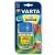 Varta Elemtöltő, AA ceruza/AAA mikro, 4x2600 mAh AA, LCD kijelző, 12V USB, VARTA (VTL06)