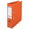ESSELTE Iratrendező, 75 mm, A4, PP/PP, élvédő sínnel, ESSELTE Standard, narancssárga (E811340)