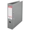 ESSELTE Iratrendező, 75 mm, A4, PP/PP, élvédő sínnel, ESSELTE Standard, szürke (E811380)