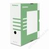 DONAU Archiváló doboz, A4, 120 mm, karton, DONAU, zöld (D7662Z)