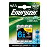 ENERGIZER Tölthető elem, AAA mikro, 4x800 mAh, előtöltött, ENERGIZER Extreme (EAKU11)