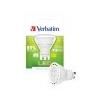 Verbatim LED izzó, PAR16, GU10-es foglalat, 250lm, 4W, 2700K, meleg fény, bliszterben, VERBATIM