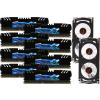 G.Skill F3-19200CL10Q2-64GBZHD RipjawsZ ZHD DDR3 RAM 64GB (8x8GB) Quad 2400Mhz CL10